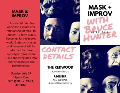 mask + improv